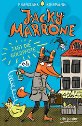 Cover: Jacky Marrone jagt die Goldpfote 9783423762304