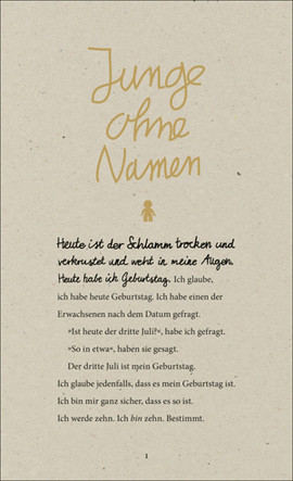 Cover: Junge ohne Namen 9783737356435